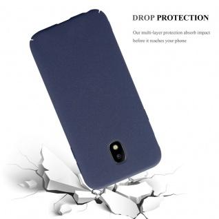 Cadorabo Hülle für Samsung Galaxy J3 2017 in FROSTY BLAU - Hardcase Handyhülle aus Plastik gegen Kratzer und Stöße - Schutzhülle Bumper Ultra Slim Back Case Hard Cover - Vorschau 4