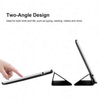 """Cadorabo Tablet Hülle für Huawei MediaPad M3 LITE 10 (10"""" Zoll) in SATIN SCHWARZ Ultra Dünne Book Style Schutzhülle mit Auto Wake Up und Standfunktion aus Kunstleder - Vorschau 4"""