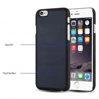 Cadorabo Hülle für Apple iPhone 6 PLUS / iPhone 6S PLUS in WOODY BLAU ? Hardcase Handyhülle aus Plastik gegen Kratzer und Stöße ? Schutzhülle Bumper Ultra Slim Back Case Hard Cover - Vorschau 3