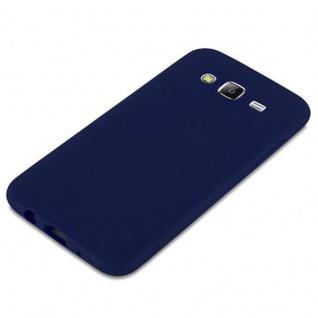 Cadorabo Hülle für Samsung Galaxy J5 2015 in CANDY DUNKEL BLAU - Handyhülle aus flexiblem TPU Silikon - Silikonhülle Schutzhülle Ultra Slim Soft Back Cover Case Bumper - Vorschau 4