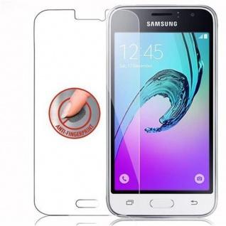 Cadorabo Panzer Folie für Samsung Galaxy J1 2016 - Schutzfolie in KRISTALL KLAR - Gehärtetes (Tempered) Display-Schutzglas in 9H Härte mit 3D Touch Kompatibilität - Vorschau 4