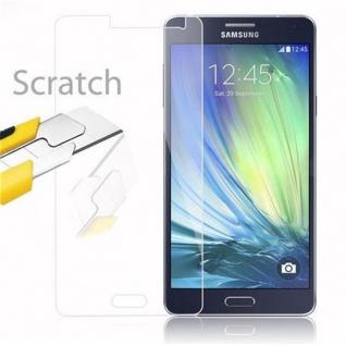 Cadorabo Panzer Folie für Samsung Galaxy A7 2015 - Schutzfolie in KRISTALL KLAR - Gehärtetes (Tempered) Display-Schutzglas in 9H Härte mit 3D Touch Kompatibilität - Vorschau 2