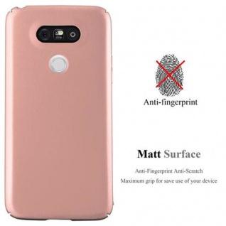 Cadorabo Hülle für LG G5 in METALL ROSE GOLD ? Hardcase Handyhülle aus Plastik gegen Kratzer und Stöße ? Schutzhülle Bumper Ultra Slim Back Case Hard Cover - Vorschau 2