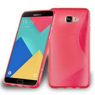 Cadorabo Hülle für Samsung Galaxy A9 2015 in INFERNO ROT - Handyhülle aus flexiblem TPU Silikon - Silikonhülle Schutzhülle Ultra Slim Soft Back Cover Case Bumper