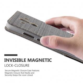 Cadorabo Hülle für Huawei MATE 10 PRO in GRAU SCHWARZ - Handyhülle mit Magnetverschluss, Standfunktion und Kartenfach - Case Cover Schutzhülle Etui Tasche Book Klapp Style - Vorschau 4