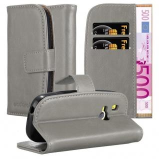 Cadorabo Hülle für Nokia 3310 in CAPPUCCINO BRAUN Handyhülle mit Magnetverschluss, Standfunktion und Kartenfach Case Cover Schutzhülle Etui Tasche Book Klapp Style