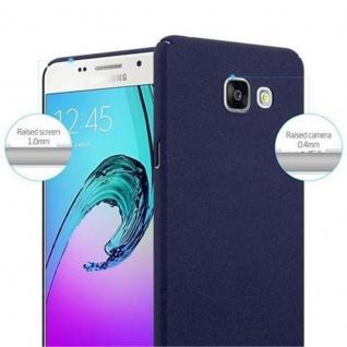Cadorabo Hülle für Samsung Galaxy A3 2016 in FROSTY BLAU - Hardcase Handyhülle aus Plastik gegen Kratzer und Stöße - Schutzhülle Bumper Ultra Slim Back Case Hard Cover - Vorschau 5