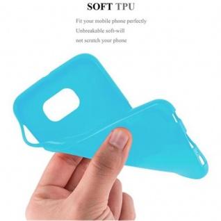 Cadorabo Hülle für Samsung Galaxy S6 in JELLY HELL BLAU ? Handyhülle aus flexiblem TPU Silikon ? Silikonhülle Schutzhülle Ultra Slim Soft Back Cover Case Bumper - Vorschau 3