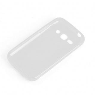 Cadorabo Hülle für Samsung Galaxy ACE 3 in HALB TRANSPARENT ? Handyhülle aus flexiblem TPU Silikon ? Silikonhülle Schutzhülle Ultra Slim Soft Back Cover Case Bumper - Vorschau 2