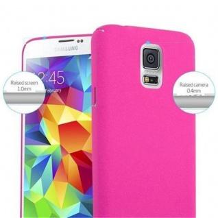 Cadorabo Hülle für Samsung Galaxy S5 / S5 NEO in FROSTY PINK - Hardcase Handyhülle aus Plastik gegen Kratzer und Stöße - Schutzhülle Bumper Ultra Slim Back Case Hard Cover - Vorschau 5
