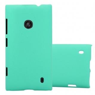 Cadorabo Hülle für Nokia Lumia 520 in FROSTY GRÜN - Hardcase Handyhülle aus Plastik gegen Kratzer und Stöße - Schutzhülle Bumper Ultra Slim Back Case Hard Cover