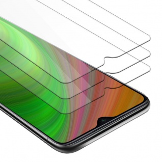 Cadorabo 3x Panzer Folie für Xiaomi RedMi Note 8 PRO Schutzfolie in KRISTALL KLAR 3er Pack Gehärtetes (Tempered) Display-Schutzglas in 9H Härte mit 3D Touch Kompatibilität
