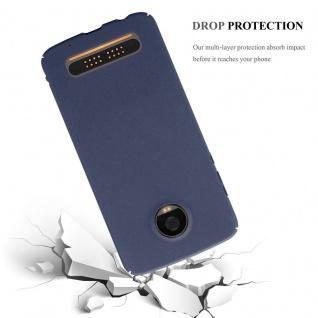 Cadorabo Hülle für Motorola MOTO Z2 PLAY in FROSTY BLAU - Hardcase Handyhülle aus Plastik gegen Kratzer und Stöße - Schutzhülle Bumper Ultra Slim Back Case Hard Cover - Vorschau 5