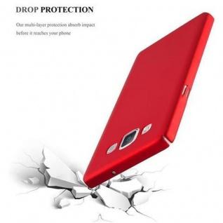 Cadorabo Hülle für Samsung Galaxy A5 2015 in METALL ROT ? Hardcase Handyhülle aus Plastik gegen Kratzer und Stöße ? Schutzhülle Bumper Ultra Slim Back Case Hard Cover - Vorschau 5