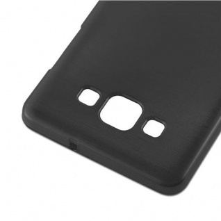 Cadorabo Hülle für Samsung Galaxy A5 2015 in SCHWARZ - Handyhülle aus flexiblem TPU Silikon - Silikonhülle Schutzhülle Ultra Slim Soft Back Cover Case Bumper - Vorschau 4