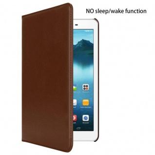 """Cadorabo Tablet Hülle für Huawei MediaPad T1 8 (8, 0"""" Zoll) in PILZ BRAUN Book Style Schutzhülle OHNE Auto Wake Up mit Standfunktion und Gummiband Verschluss - Vorschau 2"""