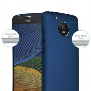 Cadorabo Hülle für Motorola MOTO G5 in METALL BLAU - Hardcase Handyhülle aus Plastik gegen Kratzer und Stöße - Schutzhülle Bumper Ultra Slim Back Case Hard Cover - Vorschau 2