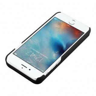 Cadorabo - TPU Hard Cover für Apple iPhone 6 PLUS / iPhone 6S PLUS mit Muster, Spiegel und 3 Kartenfächer ? Case Schutzhülle in SCHWARZ - Vorschau 3
