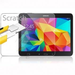Cadorabo Panzer Folie für Samsung Galaxy Tab 4 (10, 1 Zoll) - Schutzfolie in KRISTALL KLAR - Gehärtetes (Tempered) Display-Schutzglas in 9H Härte mit 3D Touch Kompatibilität - Vorschau 2