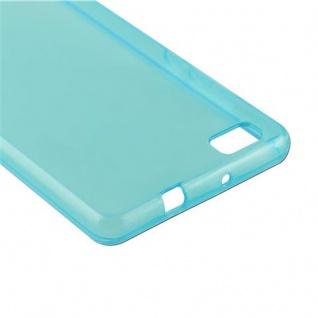 Cadorabo Hülle für Huawei P8 LITE 2015 in TRANSPARENT BLAU - Handyhülle aus flexiblem TPU Silikon - Silikonhülle Schutzhülle Ultra Slim Soft Back Cover Case Bumper - Vorschau 5