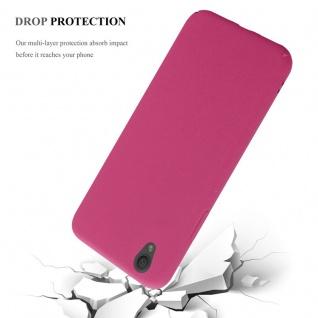 Cadorabo Hülle für Sony Xperia L1 in FROSTY PINK - Hardcase Handyhülle aus Plastik gegen Kratzer und Stöße - Schutzhülle Bumper Ultra Slim Back Case Hard Cover - Vorschau 4