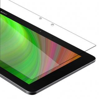 """Cadorabo Panzer Folie für Sony Xperia Tablet Z2 (10.1"""" Zoll) (SGP521) Schutzfolie in KRISTALL KLAR Gehärtetes (Tempered) Display-Schutzglas in 9H Härte mit 3D Touch Kompatibilität"""