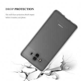 Cadorabo Hülle für Huawei MATE 10 in VOLL TRANSPARENT - Handyhülle aus flexiblem TPU Silikon - Silikonhülle Schutzhülle Ultra Slim Soft Back Cover Case Bumper - Vorschau 5