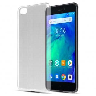 Cadorabo Hülle für Xiaomi RedMi GO in VOLL TRANSPARENT Handyhülle aus flexiblem TPU Silikon Silikonhülle Schutzhülle Ultra Slim Soft Back Cover Case Bumper