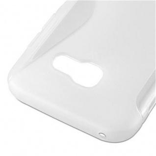 Cadorabo Hülle für Samsung Galaxy A5 2017 in HALB TRANSPARENT ? Handyhülle aus flexiblem TPU Silikon ? Silikonhülle Schutzhülle Ultra Slim Soft Back Cover Case Bumper - Vorschau 3