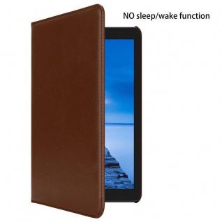 """Cadorabo Tablet Hülle für Huawei MediaPad T3 7 (7, 0"""" Zoll) in PILZ BRAUN Book Style Schutzhülle OHNE Auto Wake Up mit Standfunktion und Gummiband Verschluss - Vorschau 2"""