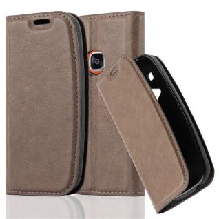 Cadorabo Hülle für Nokia 3310 in KAFFEE BRAUN Handyhülle mit Magnetverschluss, Standfunktion und Kartenfach Case Cover Schutzhülle Etui Tasche Book Klapp Style