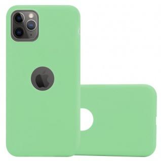 Cadorabo Hülle für Apple iPhone 11 PRO (XI PRO) in CANDY PASTELL GRÜN - Handyhülle aus flexiblem TPU Silikon - Silikonhülle Schutzhülle Ultra Slim Soft Back Cover Case Bumper