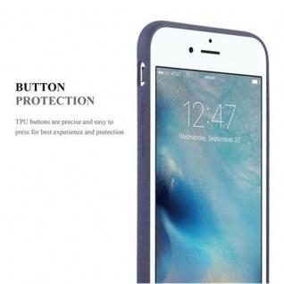 Cadorabo Hülle für Apple iPhone 6 / iPhone 6S in FROST DUNKEL BLAU - Handyhülle aus flexiblem TPU Silikon - Silikonhülle Schutzhülle Ultra Slim Soft Back Cover Case Bumper - Vorschau 3