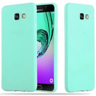 Cadorabo Hülle für Samsung Galaxy A5 2016 in CANDY BLAU - Handyhülle aus flexiblem TPU Silikon - Silikonhülle Schutzhülle Ultra Slim Soft Back Cover Case Bumper