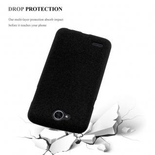 Cadorabo Hülle für LG X POWER 2 in FROST SCHWARZ - Handyhülle aus flexiblem TPU Silikon - Silikonhülle Schutzhülle Ultra Slim Soft Back Cover Case Bumper - Vorschau 4