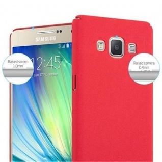 Cadorabo Hülle für Samsung Galaxy A5 2015 in FROSTY ROT - Hardcase Handyhülle aus Plastik gegen Kratzer und Stöße - Schutzhülle Bumper Ultra Slim Back Case Hard Cover - Vorschau 5