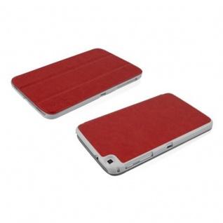 """"""" Cadorabo Hülle für Samsung Galaxy Tab 3, 0 (8"""" Zoll) - Hülle in DATTEL BRAUN ? Schutzhülle mit Auto Wake Sleep und Standfunktion - Book Style Etui Bumper Case Cover"""" - Vorschau 3"""