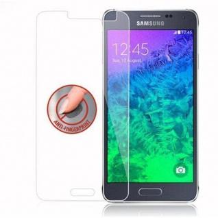 Cadorabo Panzer Folie für Samsung Galaxy ALPHA - Schutzfolie in KRISTALL KLAR - Gehärtetes (Tempered) Display-Schutzglas in 9H Härte mit 3D Touch Kompatibilität - Vorschau 4