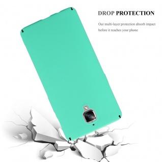 Cadorabo Hülle für OnePlus 3 / 3T in FROSTY GRÜN - Hardcase Handyhülle aus Plastik gegen Kratzer und Stöße - Schutzhülle Bumper Ultra Slim Back Case Hard Cover - Vorschau 3