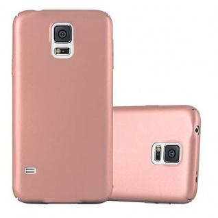 Cadorabo Hülle für Samsung Galaxy S5 / S5 NEO in METALL ROSE GOLD - Hardcase Handyhülle aus Plastik gegen Kratzer und Stöße - Schutzhülle Bumper Ultra Slim Back Case Hard Cover