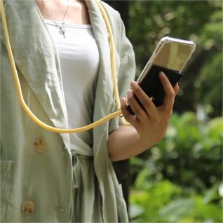Cadorabo Handy Kette für Nokia 4.2 in CREME BEIGE Silikon Necklace Umhänge Hülle mit Gold Ringen, Kordel Band Schnur und abnehmbarem Etui Schutzhülle - Vorschau 4