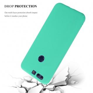 Cadorabo Hülle für Honor 8 in FROSTY GRÜN - Hardcase Handyhülle aus Plastik gegen Kratzer und Stöße - Schutzhülle Bumper Ultra Slim Back Case Hard Cover - Vorschau 4