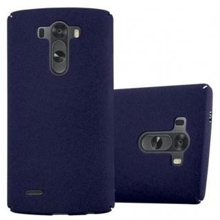 Cadorabo Hülle für LG G3 in FROSTY BLAU - Hardcase Handyhülle aus Plastik gegen Kratzer und Stöße - Schutzhülle Bumper Ultra Slim Back Case Hard Cover