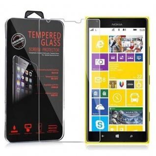 Cadorabo Panzer Folie für Nokia Lumia 1520 - Schutzfolie in KRISTALL KLAR - Gehärtetes (Tempered) Display-Schutzglas in 9H Härte mit 3D Touch Kompatibilität
