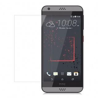 Cadorabo Panzerglas für HTC DESIRE 530/630 - Schutzfolie in KRISTALL KLAR ? Gehärtetes (Tempered) Display-Schutzglas in 9H Härte mit 3D Touch Kompatibilität