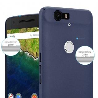Cadorabo Hülle für Huawei NEXUS 6P in FROSTY BLAU - Hardcase Handyhülle aus Plastik gegen Kratzer und Stöße - Schutzhülle Bumper Ultra Slim Back Case Hard Cover - Vorschau 3