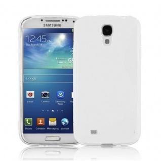 Cadorabo Hülle für Samsung Galaxy S4 in HALB TRANSPARENT ? Handyhülle aus flexiblem TPU Silikon ? Silikonhülle Schutzhülle Ultra Slim Soft Back Cover Case Bumper