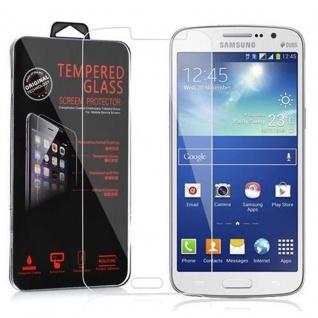 Cadorabo Panzer Folie für Samsung Galaxy GRAND 2 - Schutzfolie in KRISTALL KLAR - Gehärtetes (Tempered) Display-Schutzglas in 9H Härte mit 3D Touch Kompatibilität