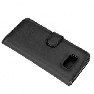 Cadorabo Hülle für Samsung Galaxy S8 PLUS in OXID SCHWARZ ? Handyhülle mit Magnetverschluss und 3 Kartenfächern ? Case Cover Schutzhülle Etui Tasche Book Klapp Style - Vorschau 4