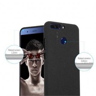 Cadorabo Hülle für Honor 8 PRO in FROST SCHWARZ - Handyhülle aus flexiblem TPU Silikon - Silikonhülle Schutzhülle Ultra Slim Soft Back Cover Case Bumper - Vorschau 5